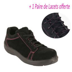 Chaussures de sécurité Femme basses Pink S1P