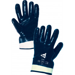 Lot de 12 paires de gants nitrile manchette ML004