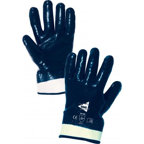 12 paires de gants nitrile imperméable manchette ML004