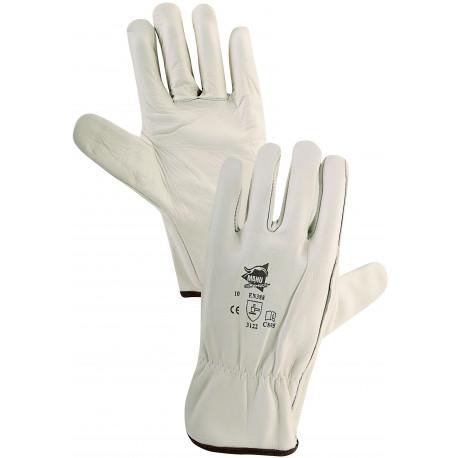 12 paires de gants cuir de bovin C805