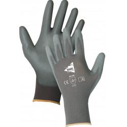 12 paires de gants polyuréthane gris MF103