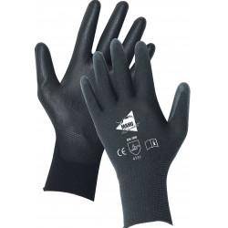 12 paires de gants polyuréthane noirs MF104