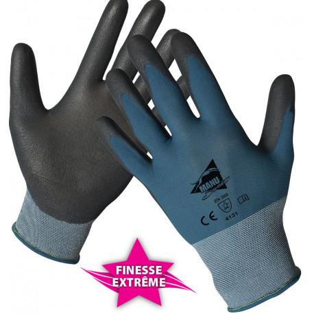12 paires de gants polyuréthane MF200