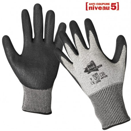 Gants anti-coupure enduction latex ANT508