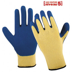 Lot de 12 paires de gants anti-coupure en latex AC203