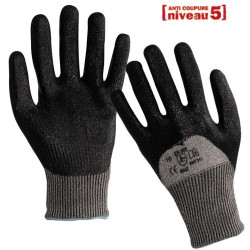 12 paires de gants anti-coupure enduction nitrile ANT311