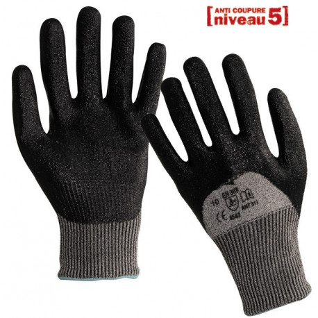 Gants anti-coupure enduction nitrile ANT311