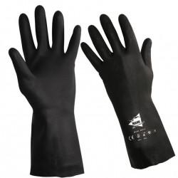 12 paires de gants chimiques néoprène, RC605