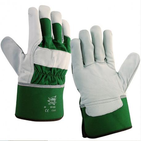 12 paires de gants cuir de bovin C855