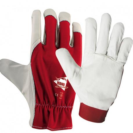 12 paires de gants cuir fleur de chèvre C430