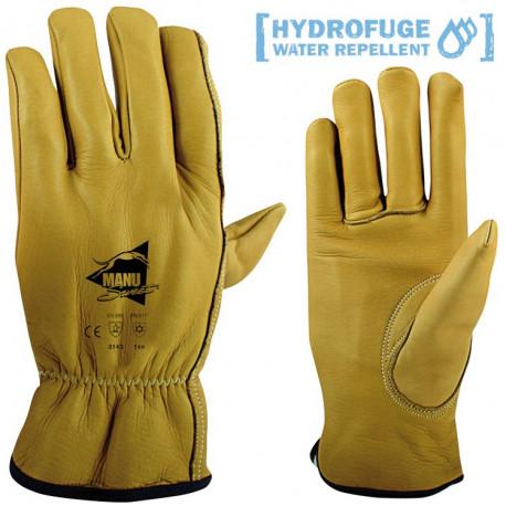 Gants cuirs Hydrofuges F710