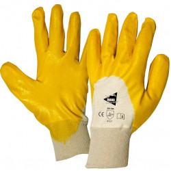12 paires de gants enduction nitrile MM011