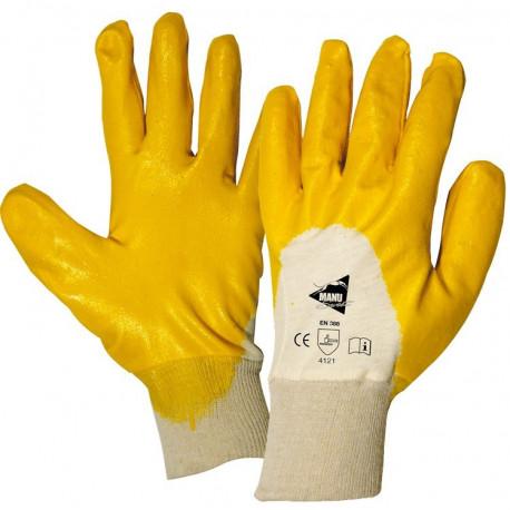 12 paires de gants enduction nitrile MM011