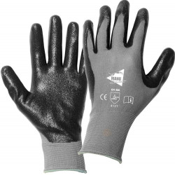 Lot de 12 paires de gants Nitrile mousse MM018