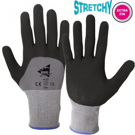 12 paires de gants manutention moyenne Polyuréthane/Nitrile NP1004