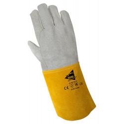 Lot de 12 paires de gants soudeur cuir de bovin A906