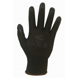 12 paires de gants manutention moyenne Latex L4001