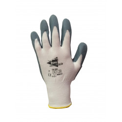 LOT de 12 paires de gants enduction mousse nitrile MM020