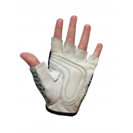 LOT 12 paires de gant mitaine cuir C450