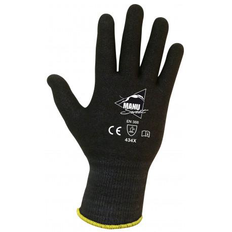 LOT de 10 paires de gants NERO ANTI COUPURE Niv.3