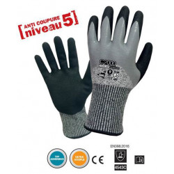 LOT de 12 paires de gants C2000 ANTI COUPURE Niv.5