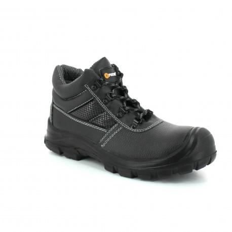 998ed32eb1a245 Chaussures de sécurité S3 Chicago hautes, noire - Securistock.fr