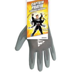Lot de 6 paires de gants de travail Captain PRATIK
