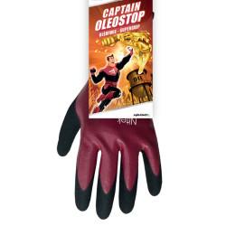 Lot de 6 paires de gants de travail captain OLEOSTOP