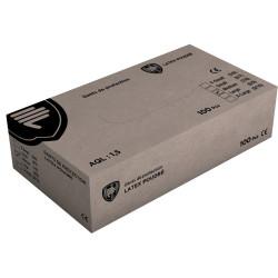 Boite de 100 gants jetables en latex poudrés 8201