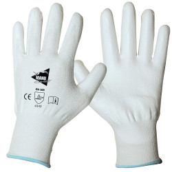 12 paires de gants anti-coupure enduction polyuréthane ANT304