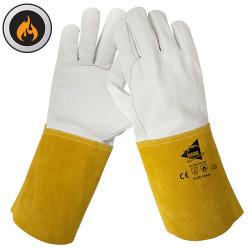 Lot de 12 paires de gants soudeur cuir de bovin A907