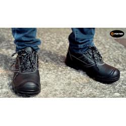 Chaussures de sécurité S3 Chicago basses, noire