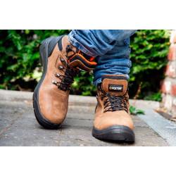 Chaussures de sécurité S3 Scorpion hautes, marrons
