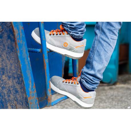 Chaussures de sécurité basses NEVADA GRISES S1P