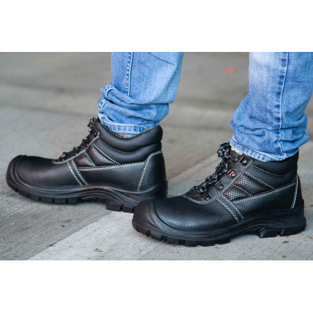 Chaussures de sécurité S3 Chicago hautes, noire