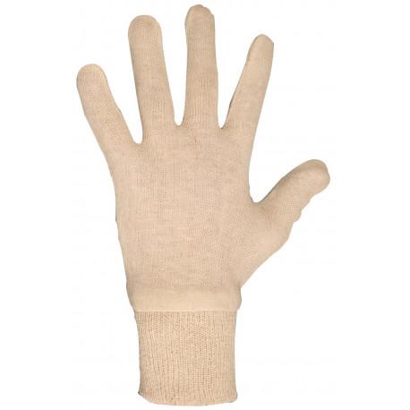 LOT de 12 paires de gant coton interlock CC503