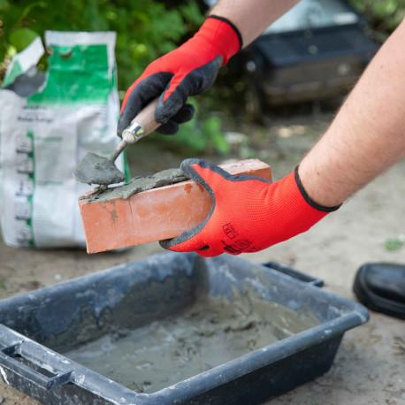 12 paires de gants manutention moyenne Latex L2001