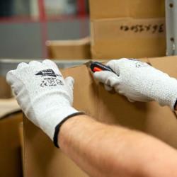 Lot de 12 paires de gants anti-coupure NIV. B, C1001