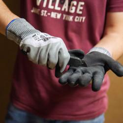 LOT de 12 paires de gants C2000 ANTI COUPURE Niv.5