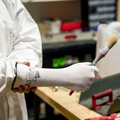 12 paires de gants polyuréthane MF202
