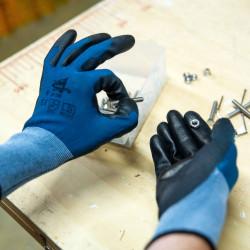 Lot de 12 paires de gant polyuréthane MF200