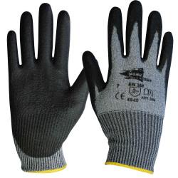 Lot de 12 paires de gants anthracite polyuréthane ANT308